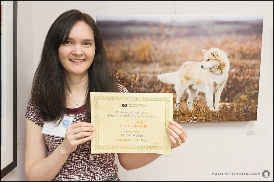 Pet Photographer wins art award