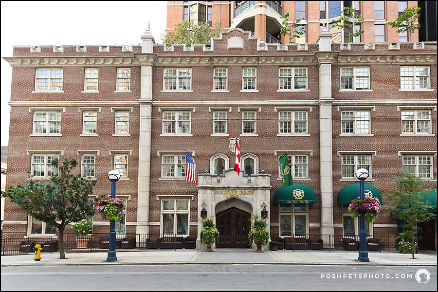 Windsor Arms Hotel at Bloor Street, Toronto