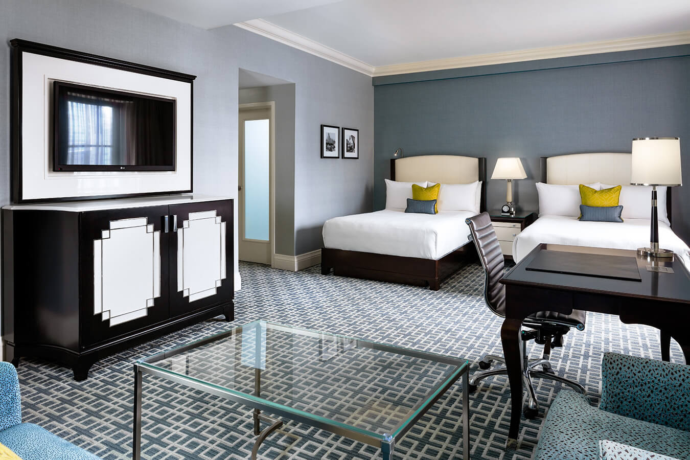 Signature Double Suite at Fairmont Royal York Hotel in Toronto.