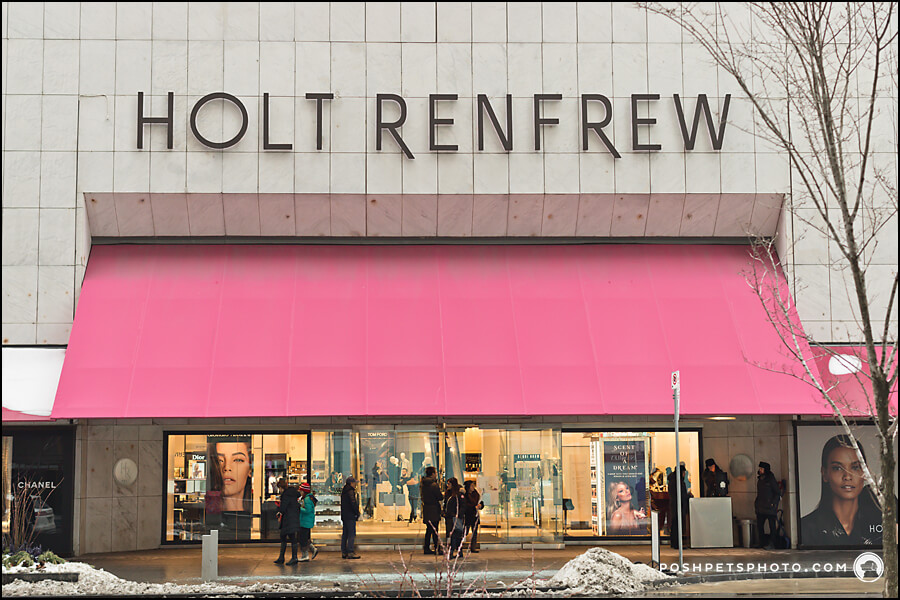Holt Renfrew on Bloor Street, Toronto