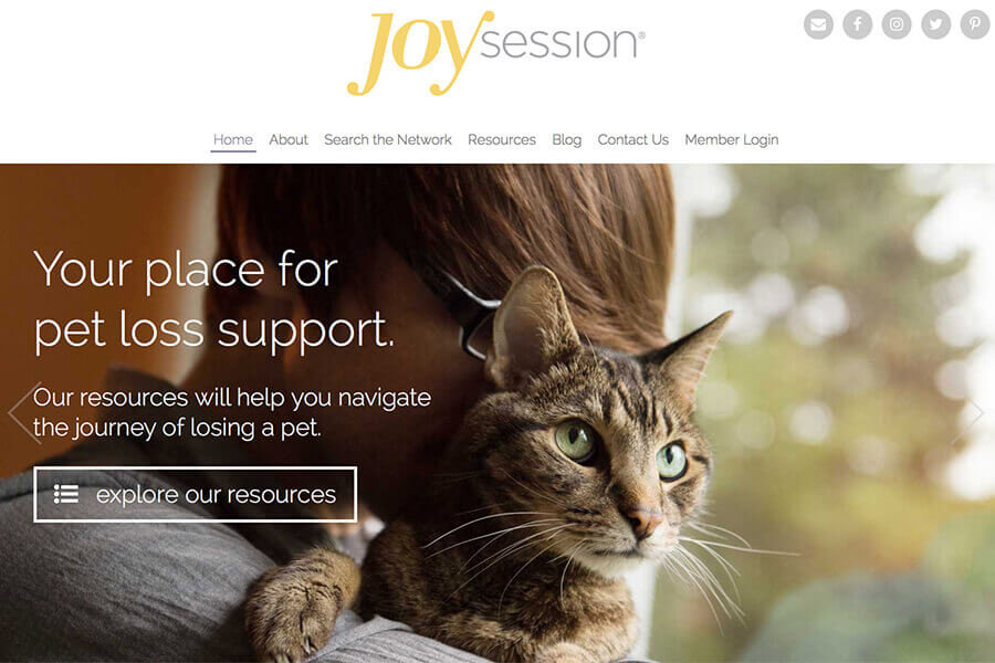 Joy Session Network | pet loss