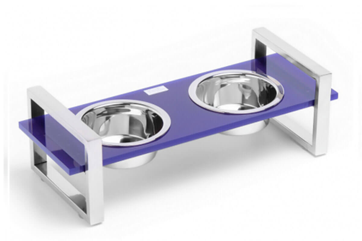 Ultra Violet Pantone Dog Bowl